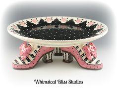 Whimsical Bliss Studios - Shoe Cake Plate