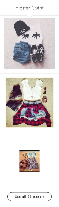 """""""Hipster Outfit"""" by damyadunn ❤ liked on Polyvore featuring hippie, outfits, tumblr outfits, dress like, bandeau bikini tops, bandeau top, jewelry, full outfit, pin jewelry and hipster jewelry"""