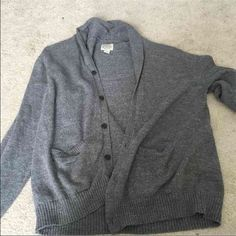 Men's collared cardigan Only worn a few times St. John's Bay Jackets & Coats