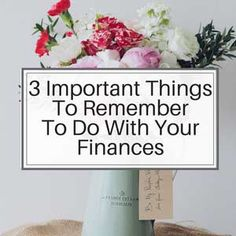 3 Important Things To Remember In Your Budget Plan