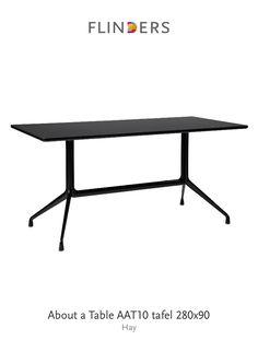 Ontdek dit product dat ik heb gevonden in de Flinders app:  About a Table AAT10 tafel 280x90 http://www.flinders.nl/aat10-eettafel-hay-280x90
