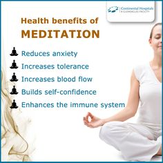 #Meditation can give you a sense of calm, peace and balance that benefits both your emotional well-being and your overall #health. #healthtips