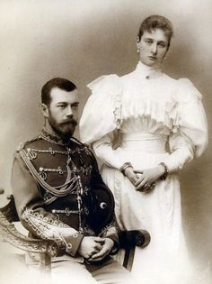 Император Николай II и Императрица Александра Феодоровна