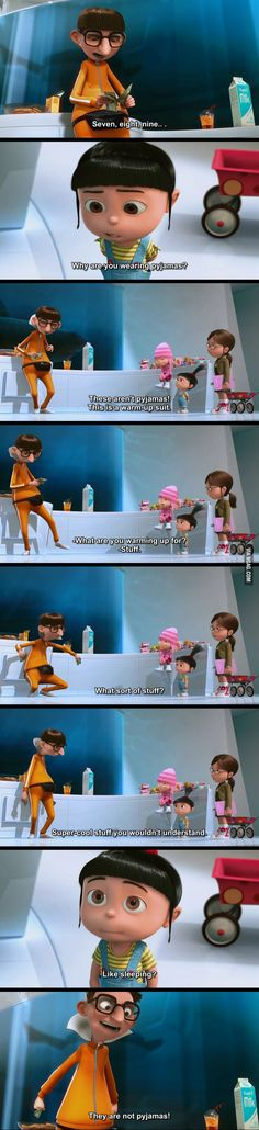 The best scene. #DespicableMe