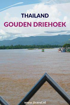 Tijdens mijn rondreis door Thailand bezocht ik vanuit Chiang Rai de Gouden Driehoek en maakte ik een boottocht over de Mekong Rivier naar een eilandje dat bij Laos hoort. Hier lees je de informatie over de Gouden Driehoek in het noorden van Thailand. Lees je mee over de Gouden Driehoek? #chiangrai #goudendriehoek #thailand #jtravel #jtravelblog