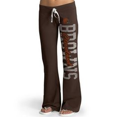 Cleveland Browns '47 Brand Ladies Pep Rally Pants – Brown