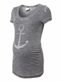 ANCHOR S/S JERSEY TOP - mama.licious