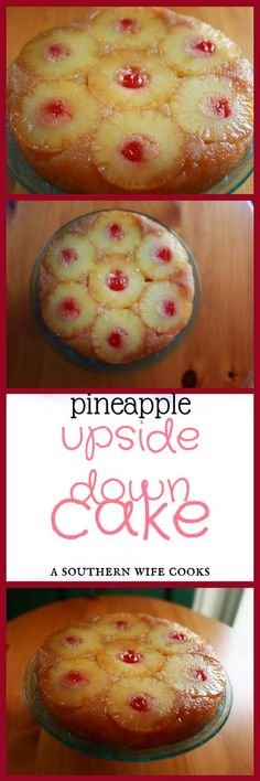 Authentic, southern from scratch Pineapple Upside Down Cake recipe, easy and simple to make recipe.