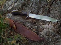 Frontiersman bowie knife by Wolfie-83 on DeviantArt