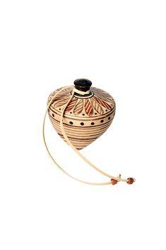 Σβούρα   Whirligig Made Of Wood, Ancient Greek, Decoration, Sculptures, Clay, Brass, Ceramics, Stone, Pendant