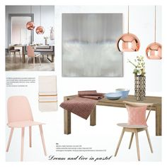 """In pastel"" by helenevlacho ❤ liked on Polyvore featuring interior, interiors, interior design, home, home decor, interior decorating, Eichholtz, Benson-Cobb Studios, Shiraleah and CB2"