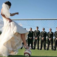 I simply LOVE this!!! To all you soccer girls out there.