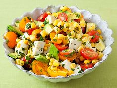 Aida's Corn, Tomato and Avocado Salad recipe from Aida Mollenkamp via Food Network
