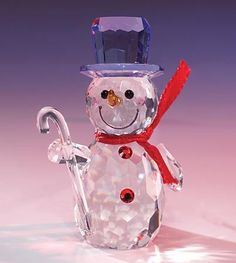 Snow Time crystal figurine from www.CrystalWorld.com