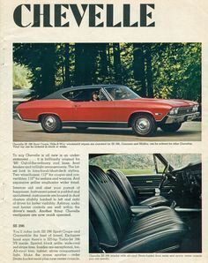 1968 Chevrolet Chevelle Malibu SS 396 Hardtop and Interior by coconv on Flickr.