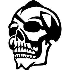 One-eyed skull vector by Vectorportal on deviantART
