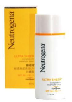 Neutrogena Ultra Sheer Complete UV Moisture SPF50 30 ml Get Free Tomato Facial Mask -- BEST VALUE BUY on Amazon #KoreanBeautyCare