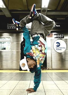 Get a private dance lesson with world champion breakdancer Bboy Neguin in NYC…