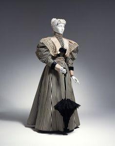 Day dress, 1895-96From the Cincinnati Art Museum