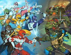 Mighty Morphin Power Rangers vs Teenage Mutant Ninja Turtles (MMPR v TMNT)