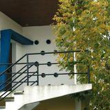 Detail villa Japbica - architecture royan 1950