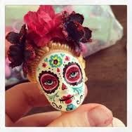 repurpose old Barbie's into Sugar Skull keychains....The following pics are not my own designs, But I am going to try a few & see how they turn out! Will post those in the near future! These pics also have no link for instructions however I will also post one as soon as it is available.