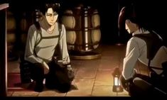 Anime Music Videos, Anime Songs, Anime Films, Attack On Titan Funny, Attack On Titan Ships, Attack On Titan Anime, Levi X Hanji, Mikasa, Captain Levi
