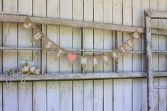 Just Married small size photo prop with pink heart by VictorianStation on Etsy https://www.etsy.com/listing/97580056/just-married-small-size-photo-prop-with