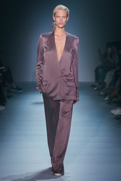 A look from the Haider Ackermann Spring 2015 RTW collection.
