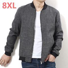 2018 New Spring Plus Size 9xl 8xl 7xl 6xl 5xl Brand Jacket Men Clothes Trend Fit Casual Mens Detachable Hat Jacket Free Postage Jackets & Coats Jackets