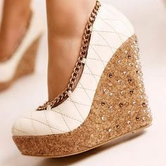 latest wedge shoes for girls - Google Search
