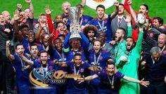 Melawan Ajax dalam laga Final Liga UEFA Europa 2017 di Friends Arena, Stockholm, Swedia, Manchester United berhasil mengalahkan lawannya dengan skor 2 – 0. Kabar Trending, Manchester United, UEFA Europa League, Kabar Olahraga, Berita Seputar Olahraga, Manchester United Juara, Piala UEFA Europa League, Berita Olahraga Indonesia