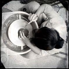Ceramic craftsmanship production in #Shanghai. Photo by Hangar Design Group