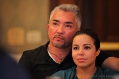 Cesar Millan and girlfriend Jahira Dar.  #cesarmiillan #jahiradar #leaderofthepack