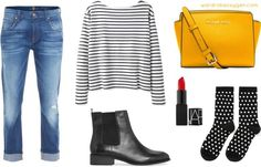 How to style chelsea boots with boyfriend jeans