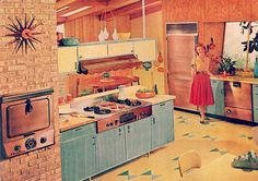 Kitchen, 1950s housewife   by 1950sUnlimited