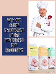 Pasteuirized egg products