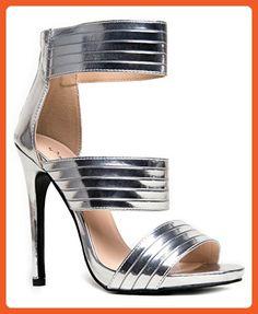 07bf62154df GLEE-50 Strappy High Heel Open Toe Sandal - Sandals for women ( Amazon  Partner-Link)