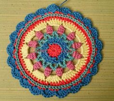 My world of crochet: Mandalas