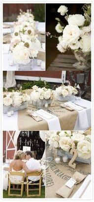 Contry wedding
