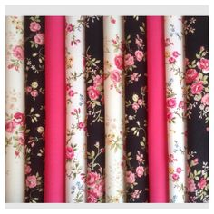 10 piece Bundle New Cotton Floral Fabric Material Remnants Offcuts Designer Cotton Crafts, Fabric Crafts, Floral Fabric, Floral Tie, Fabric Material, The 100, Fabrics, Feminine, Stuff To Buy