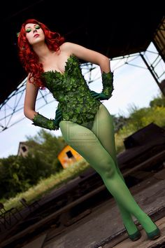 Poison ivy cosplay                                                                                                                                                      More
