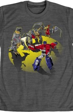 Woah Dinos Transformers Shirt: 80sTransformers T-Shirts