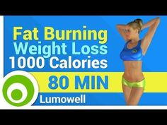 Fat Burning and Weight Loss - 1000 Calories - YouTube