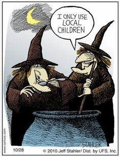 Witch humor...((Very Boulder, too, though))