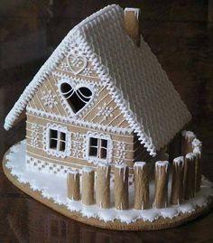 52 Unique DIY Gingerbread House Ideas in Your Decor - Gingerbread Dough, Gingerbread Village, Christmas Gingerbread House, Noel Christmas, Christmas Goodies, Christmas Treats, Christmas Baking, Gingerbread Cookies, Christmas Decorations