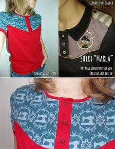 Big MARLA Love, hier gehts zum Schnittmuster: http://www.kreativlaborberlin.de/naehanleitungen-schnittmuster/shirt-marla/