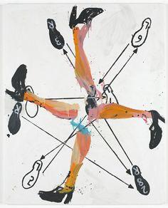 Welcher Tanz ist das?, Georg Baselitz