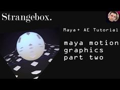 Maya and motion graphics elements Part 2 - YouTube