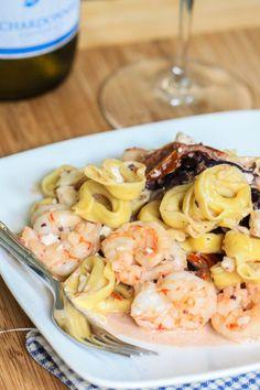 Barefoot Wine Shrimp Tortellini-4568